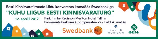 EKFLi konverents Kuhu liigub Eesti kinnisvaraturg 2017